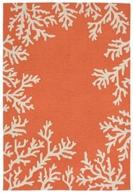Grant Design Indoor Outdoor Rug Bough Out Rust Amp Gray