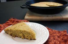 Skillet Cornbread #glutenfree #dairyfree