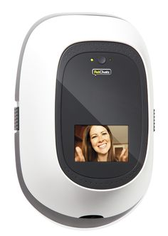 With PetChatz ($349;petchatz.com), not only can you see your pet, but Fido or Fifi can also see you. A special ringtone signals that you're calling. Dispense treats remotely, and, of course, record videos of your furry friends.   - HouseBeautiful.com