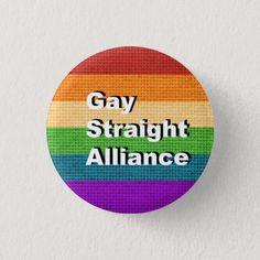 STRAIGHT ALLIANCE Belt Buckle /& LGBT Rainbow Gay Pride Belt Buckle