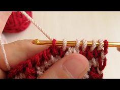 319- KOMŞUM MODELİMİN HEMEN ÖRNEĞİNİ ÇIKARDI - YouTube Tunisian Crochet, Crochet Stitches, Lana, Crochet Necklace, Earrings, Crafts, Jewelry, Youtube, Crochet Carpet