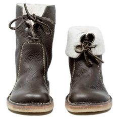 Oumiss women casual vintage boots winter snow boots flat heel boots plus velvet boots- - oumiss Ankle Snow Boots, Warm Snow Boots, Winter Snow Boots Women, Winter Shoes, Fall Shoes, Outfit Winter, Leather Fashion, Fashion Shoes, Fashion Dresses