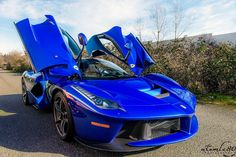 2015 Ferrari Enzo Blue hd photo