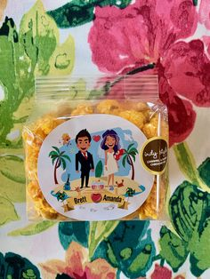 Custom gourmet popcorn favors for celebrations of all kinds!