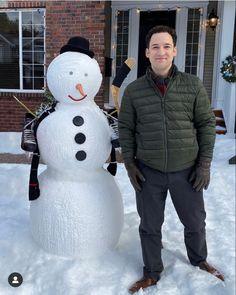 Ben Savage, Snowman, Outdoor Decor, Snowmen