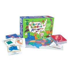 We don't have this game yet, but Scrambled States of America is something my kids are asking for!  It has a 5-star review on Amazon, and the reviews say that kids are learning about the United States while playing the game!  FUN and EDUCATIONAL!!!  This is on the must-have list for the next birthday gift... if we can wait that long!