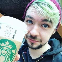 "304.5k Likes, 6,753 Comments - Jacksepticeye (@jacksepticeye) on Instagram: ""Getting my pumpkin spice on! #PSL #valleygirl"""