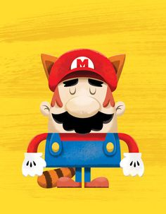Mario by ~TheBeastIsBack on deviantART