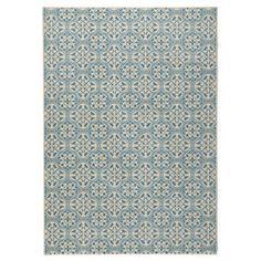 700**Modrý koberec Hanse Home Gloria Pattern, 80 x 200 cm