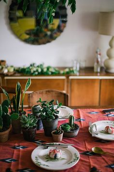 cacti & succulent centerpiece by Beth Kirby   {local milk}, via Flickr