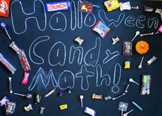 Fun and educational ways to put Halloween candy to good use...