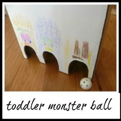 Toddler Tuesday... MONSTER ball game(link game)=) - A Mom With A Lesson Plan