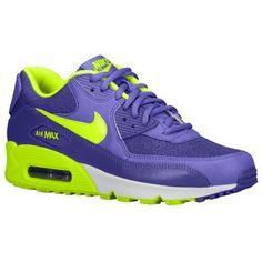 62a5ad2e6c4204 Nike Air Max 90 Dames 25213506 Paars Haze/Hyper-Druif Paars/Neon Groen