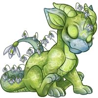 Green Orcherd Dragon hatchling by ~AnalyticFrequency on deviantART