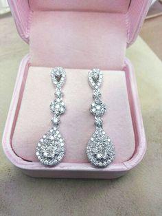 Vintage Earring#high quality diamond