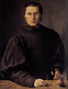 Beham, Barthel - Portrait of a Man, aka 'The Umpire' - 1529, Renaissance (Northern) - Portrait - Oil on fiberboard