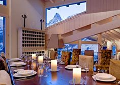 Ski chalet dining at its best