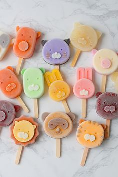 Cute Desserts, Desserts To Make, Cotton Candy Sticks, Ice Candy, Food Doodles, Cute Baking, Cute Donuts, Japanese Snacks, Cafe Menu