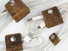 Leather Cord Organisers (4)