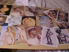 Lot+of+27+Classic+Art+Postcards