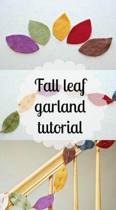 Simple, festive autumn DIY decor