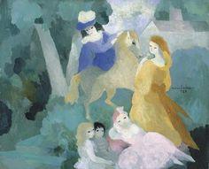 maximiliani:  Dans le Parc, Marie Laurencin 1929
