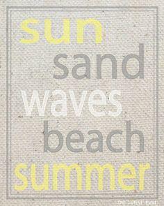 The Latest Find's Make It Create - DIY, Tutorials, Recipes, Digital Freebies: Summer Printables
