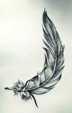 29 idéias de tatuagem de penas