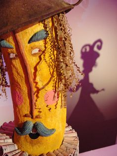 Boneco de papel machê : DFI, Alice. | adoraveljulia
