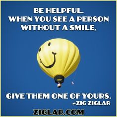 helpful smiles! :)