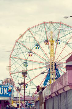 Head to your local amusement park and ride the Ferris wheel! #WeekendWhyNots