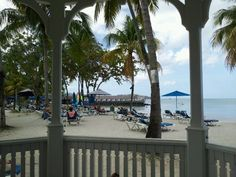 From the Gazebo, St. James Club, Morgan Bay, St. Lucia