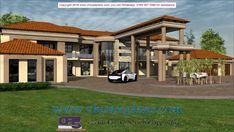 Bungalow House Design, House Front Design, Best House Plans, Dream House Plans, Dream Homes, My Dream Home, Single Storey House Plans, Big Houses, My House