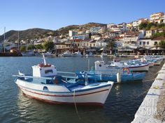 Harbour View, Pythagorion, Samos, Aegean Islands, Greece Photographic Print