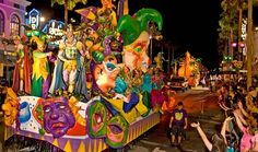 Mardi Gras parade, New Orleans