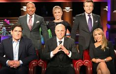 'Shark Tank' ! LOVE THIS SHOW!!!!!! They inspire me to know and not be intimidated of the business industry.