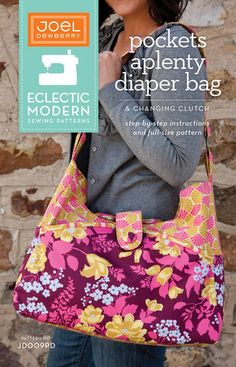 Pockets Aplenty Diaper Bag & Changing Pad Clutch