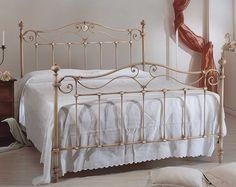 Englisches Bett ARMONIA. Elegantes Design aus Schmiedeeisen für Ihr Schlafzimmer.