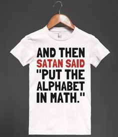 Algebra - Text First - Skreened T-shirts, Organic Shirts, Hoodies, Kids Tees, Baby One-Pieces and Tote Bags Custom T-Shirts, Organic Shirts, Hoodies, Novelty Gifts, Kids Apparel, Baby One-Pieces | Skreened - Ethical Custom Apparel