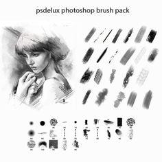 81 sets of brushes photoshop Brosses Photoshop, Effects Photoshop, Photoshop Brushes, Photoshop Tutorial, Psd Brushes, Digital Painting Tutorials, Digital Art Tutorial, Oil Paint Brushes, Affinity Photo