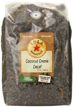 Coconut Crme Whole Bean Decaf 2 Pound *** Details can be found by clicking on the image.
