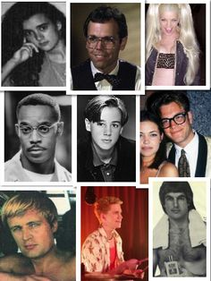 Ziva, Fornell, Abby, Leon, McGee, Tony, Ducky, Palmer and Gibbs before they were on NCIS!!!!