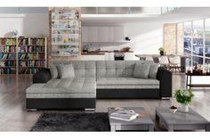 Moderní rohová sedačka Soprano, šedá