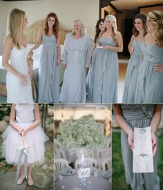 Top 10 Wedding Colors For Spring 2014--- dusty blue