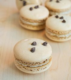 Make Cookie Dough Macarons with this recipe.