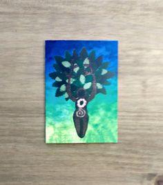 Goddess Card Tree Goddess Greetings Card Pagan Wiccan