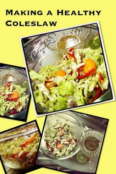 #Making a Healthy Coleslaw Cooking Like A Pro (Not really...)
