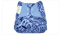 BumGenius Elemental Artist Series Diapers - Practical (all-in-one and one-size) and cute at the same time!