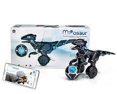 WowWee 0890 - Miposaur, balancierender Roboterdino mit Steuerball Wow Wee