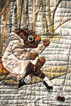 ❤ =^..^= ❤   William Morris in Quilting: Tokyo Quilt Festival Part 2